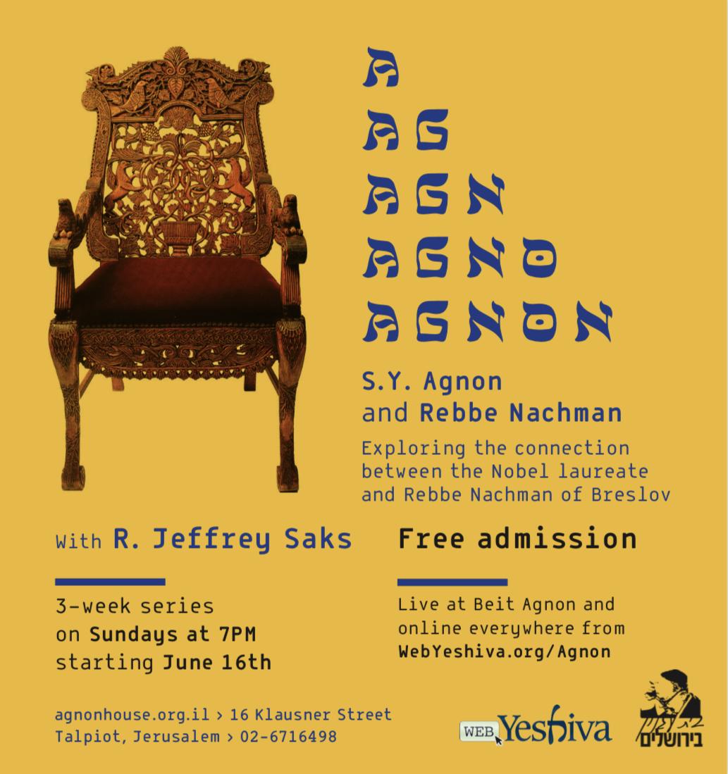Midrash Agnon: S.Y. Agnon and Rebbe Nachman
